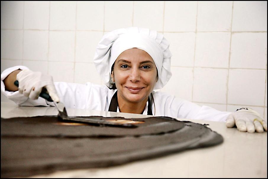 Suzanne Kabbani, maestra chocolatera de la Perla de Las Lagunas