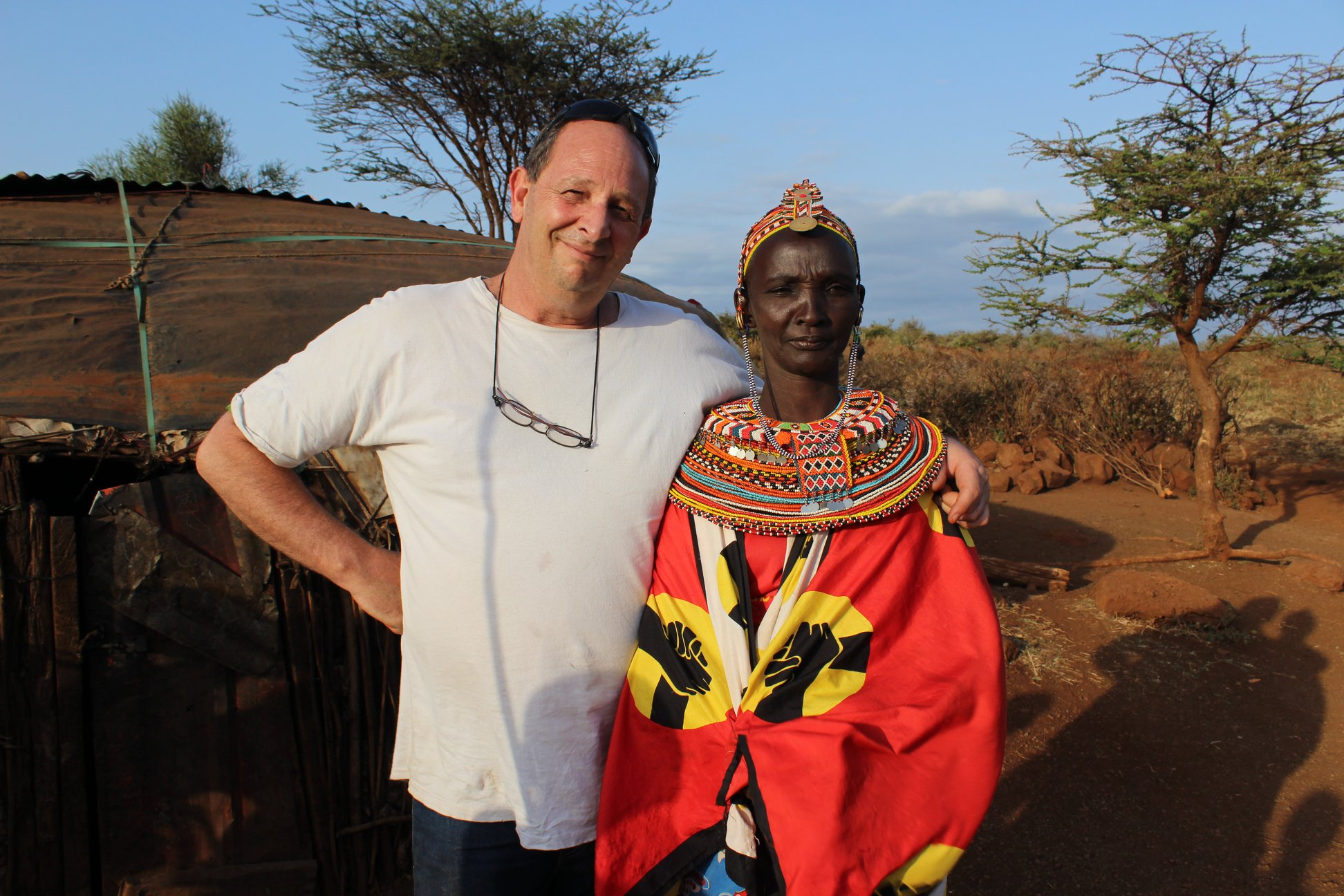 """""""Cuando conoces a las tribus africanas, te das cuenta de que eres un inútil"""""""